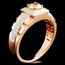 14K Gold 1.16ctw Diamond Ring
