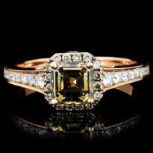 18K Gold 1.70ctw Diamond Ring