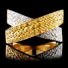 14K Gold 1.31ctw Diamond Ring