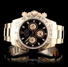 Rolex Daytona 18K Rose Gold Wristwatch
