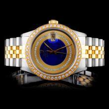 Rolex DateJust YG/SS Diamond Men's Watch