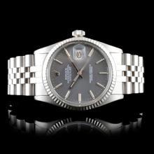 Rolex DateJust 18K & Stainless Steel 36mm Watch