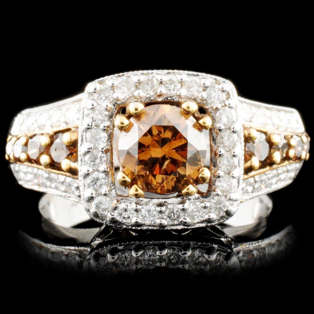 14K Gold 1.56ctw Diamond Ring