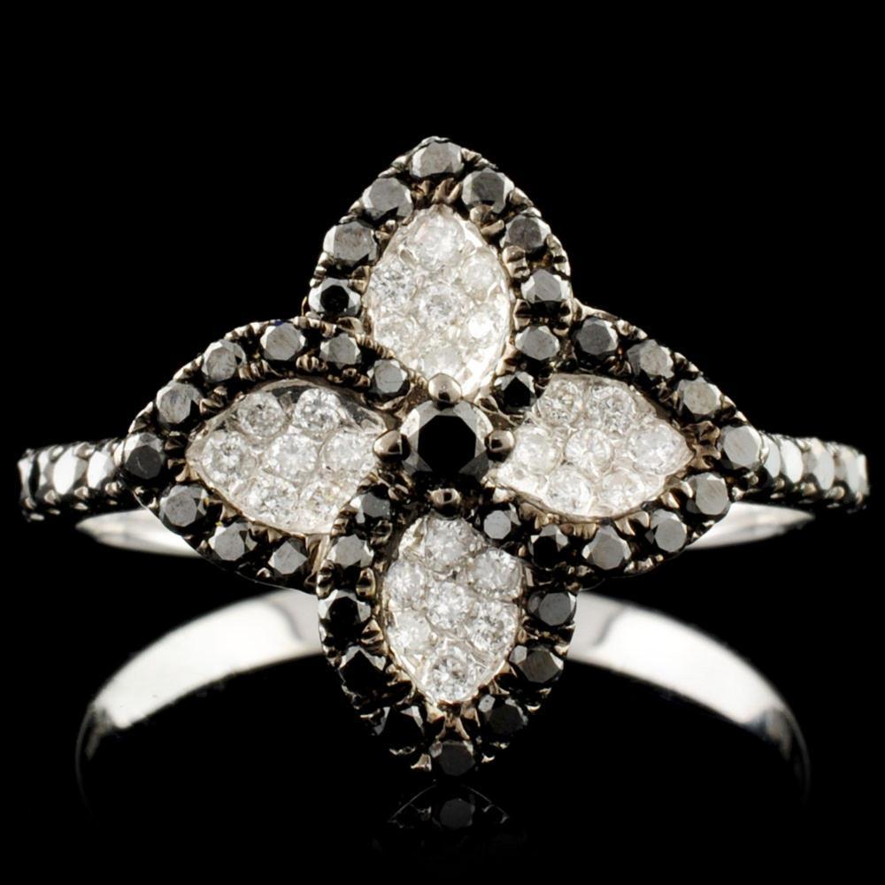 14K Gold 0.55ctw Diamond Ring