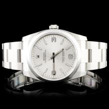 Rolex SS Oyster Perpetual 116000 Wristwatch