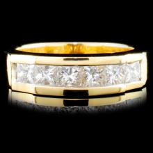 14K Gold 0.85ctw Diamond Ring