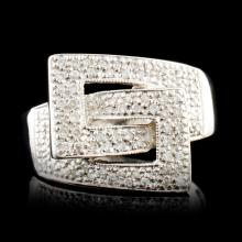 14K Gold 0.52ctw Diamond Ring