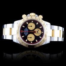 Rolex Daytona Paul Newman 18K/SS Wristwatch