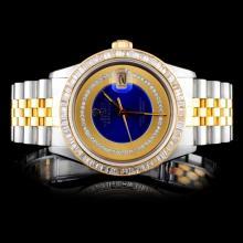 Rolex DateJust 3.50ctw Diamond Men's Watch