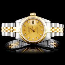 Rolex Two-Tone DateJust Ladies Wristwatch