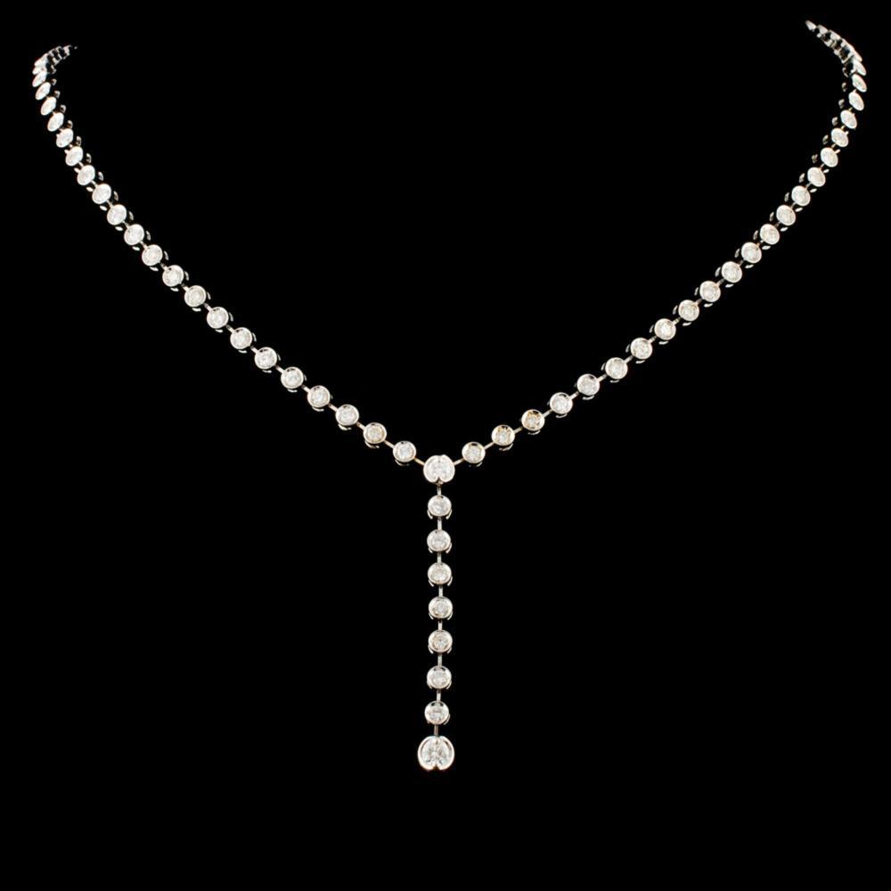 14K Gold 2.13ctw Diamond Necklace