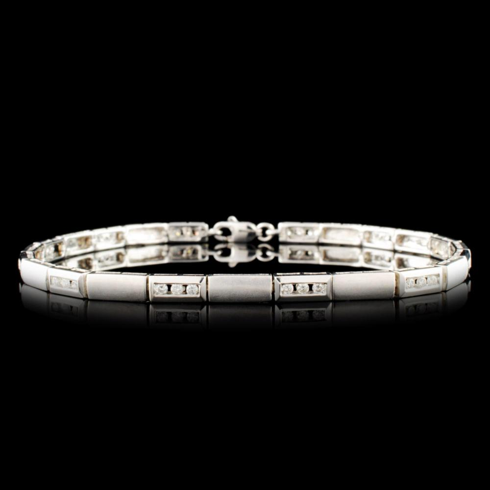 14K Gold 0.38ctw Diamond Bracelet