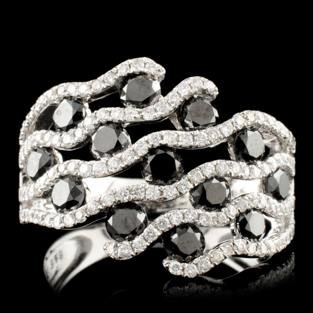 14K Gold 2.19ctw Diamond Ring