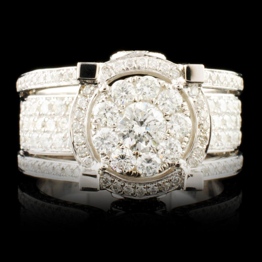 14K Gold 2.01ctw Diamond Ring