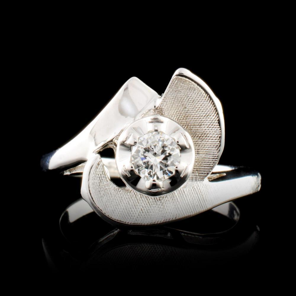 14K Gold 0.31ctw Diamond Ring