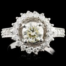 14K Gold 1.90ctw Diamond Ring