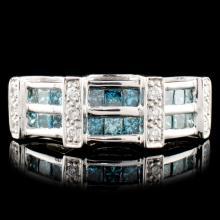 18K Gold 0.68ctw Diamond Ring