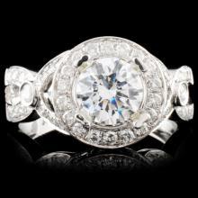 14K Gold 1.82ctw Diamond Ring