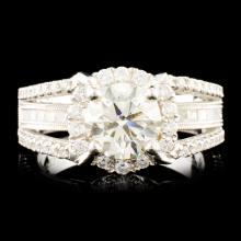 18K Gold 2.17ctw Diamond Ring