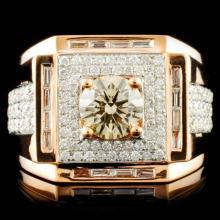 18K Gold 2.16ctw Diamond Ring