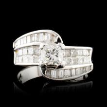 14K Gold 1.85ctw Diamond Ring
