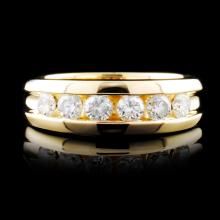 14K Gold 0.92ctw Diamond Ring