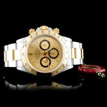 Rolex Daytona Zenith -Inverted 6- 18K/SS Watch
