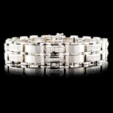 14K Gold 3.02ctw Diamond Bracelet