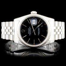 Rolex SS DateJust Wristwatch