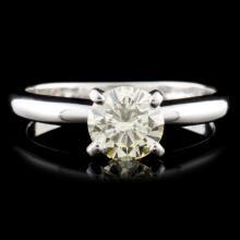 14K Gold 0.81ctw Diamond Ring