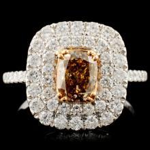18K Gold 2.00ctw Fancy Diamond Ring