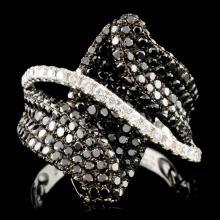 14K Gold 2.43ctw Diamond Ring