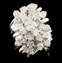 14K Gold 2.33ctw Diamond Ring