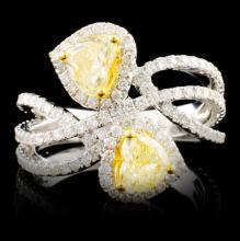 18K Gold 1.96ctw Diamond Ring