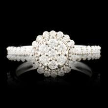 14K Gold 0.67ctw Diamond Ring