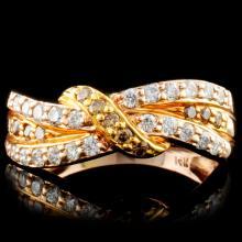 14K Gold 0.53ctw Diamond Ring