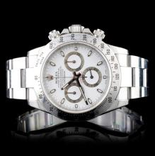 Rolex Daytona Stainless Steel Wristwatch