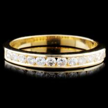 14K Gold 0.28ctw Diamond Ring