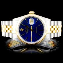 Rolex Two-Tone DateJust Wristwatch