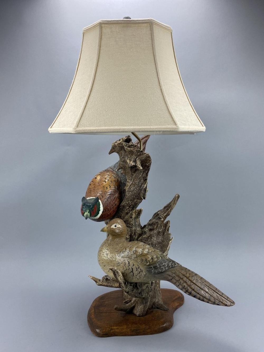 Casey Edwards Pheasant Lamp