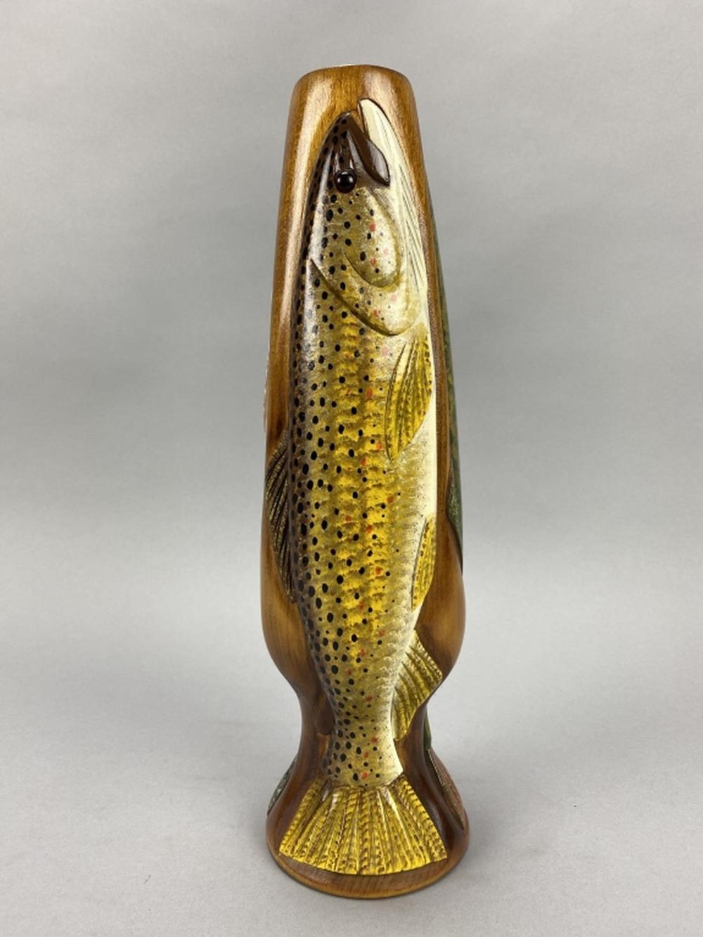 Carl Christiansen Fish Vase
