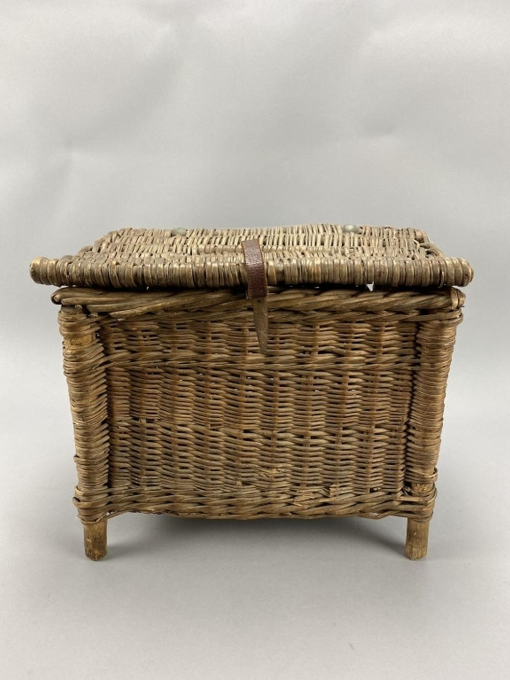 Hand Woven Fish Basket