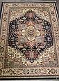 Fine Hand Made Persian Isfahan Wool Rug 8'10 X 11'8