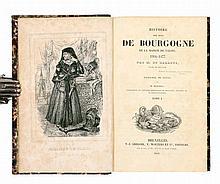 BARANTE, Prosper Brugière baron de – Histoire des ducs de Bourgogne de la Maison de Valois 1364-1477, enrichie de notes par M. Marchal