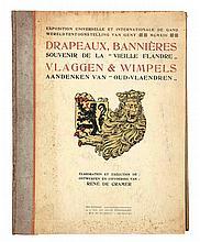 FRIS, Victor - DE CRAMER, René – Drapeaux, Bannières, souvenir de la