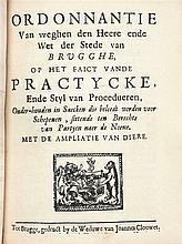[BRUGSE DRUKKEN] – Verzameling van ca. 53 ordonnanties of plakkaten