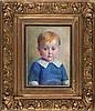 QUISTHOUDT, Jozef – Portret Johanna, dochter van kunstenaar (1915), Jozef Quisthout, €220