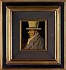 TIMMERMANS, Felix – Portret van een man met hoge hoed in profiel, Félix Timmermans, €280