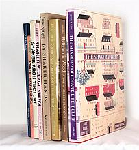 [SHAKER] – Lot of 8 volumes on Shaker architecture and furniture