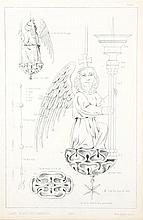 KING, T.H. – Orfèvrerie et ouvrages en métal du moyen-age. Mesurés et dessinés d'après les anciens modèles